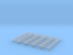 Ladder Rung 50pcs in Frosted Ultra Detail