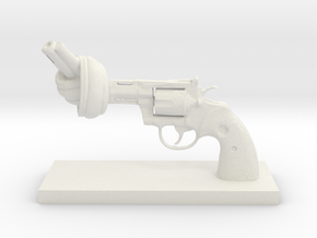 No-violence gun - Antiques in White Natural Versatile Plastic