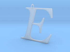 E in Smooth Fine Detail Plastic