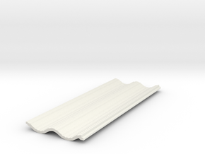 Siding07x20 in White Natural Versatile Plastic