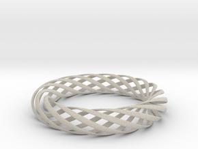 Spiral Style Bracelet  in Natural Sandstone