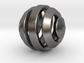 Ball-11-5 in Polished Nickel Steel