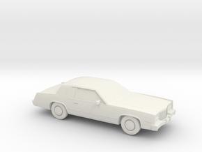 1/87 1983 Cadillac Eldorado Convertable Top in White Strong & Flexible