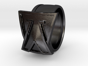 Focus Ring in Polished and Bronzed Black Steel: 9 / 59