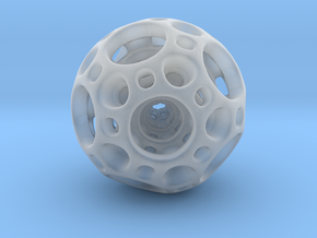 Dodecahedron Nested Sphere ( Large ) in Smoothest Fine Detail Plastic