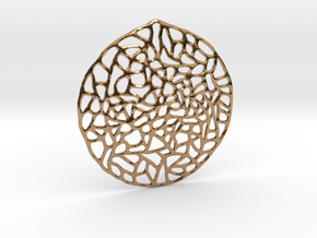 Mosaic Pendant in Polished Brass