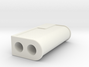 Thesas Sleeve Template in White Natural Versatile Plastic