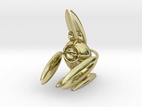 Lobsterbunny in 18K Gold Plated