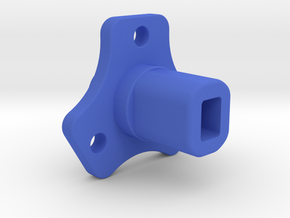 Team Associated B5/B6 Slipper Eliminator  in Blue Processed Versatile Plastic
