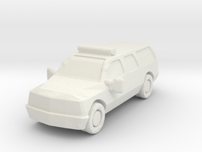 Ford SUV in White Natural Versatile Plastic: 6mm