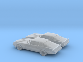 1/160 2X 1979 Chevrolet Camaro IROCZ in Frosted Ultra Detail