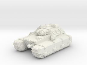 Heavy Irontank in White Natural Versatile Plastic