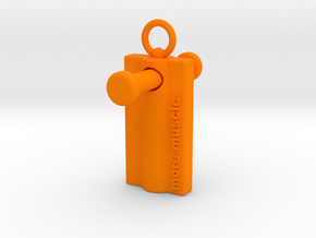 More Muscle - Wing Nut Tool in Orange Processed Versatile Plastic