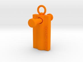 More Muscle - Wing Nut Tool in Orange Processed Versatile Plastic