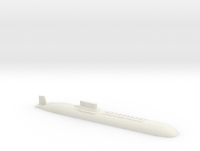 Typhoon Submarine, 1/1800 in White Natural Versatile Plastic
