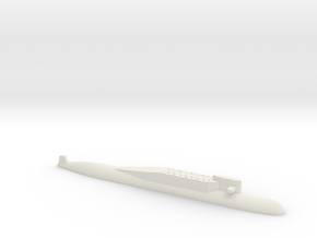 Delta Class SSBN, 1/2400 in White Natural Versatile Plastic