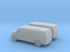 1/160 2X 2003-14 Chevrolet Express Bus Van in Frosted Ultra Detail