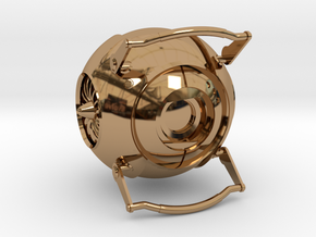 Wheatley from Portal 2 in Polished Brass