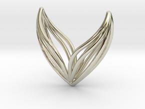 sWINGS Big, Pendant. in 14k White Gold