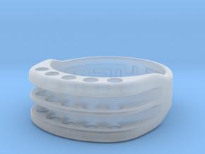 US10 Ring XVI: Tritium in Smoothest Fine Detail Plastic