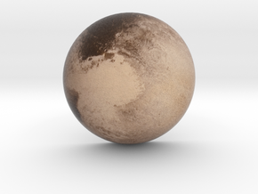 Pluto Medium in Full Color Sandstone
