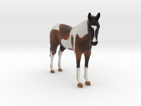 Custom Horse Figurine - Moe in Full Color Sandstone
