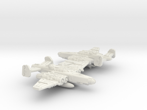 Fighterbomber Squadron in White Natural Versatile Plastic