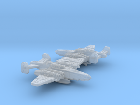 Fighterbomber Squadron in Smooth Fine Detail Plastic