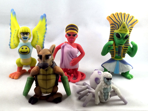 2 Inch Monsters: Batch 11 in Full Color Sandstone
