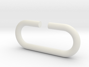 D-ring in White Strong & Flexible