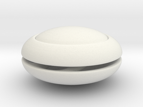 Sailor Moon Odango Shields: Bjd 1/3 SD 18mm shield in White Natural Versatile Plastic