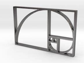 FIB-O-ORG.stl in Polished Nickel Steel