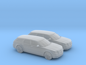 1/160 2X 2008 Dodge Magnum RT in Smooth Fine Detail Plastic