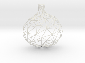 Wired Onion in White Natural Versatile Plastic