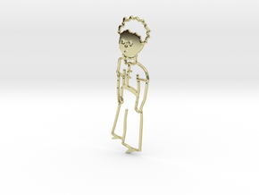 Le Petit Prince (The Little Prince) in 18k Gold Plated Brass
