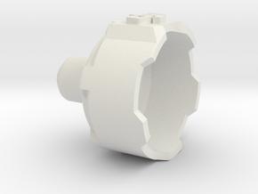 Phantom 3 Motor Cover - 1 Piece in White Natural Versatile Plastic