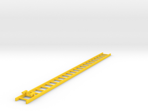 Corgi ladder 14.55cm - American La France  in Yellow Processed Versatile Plastic