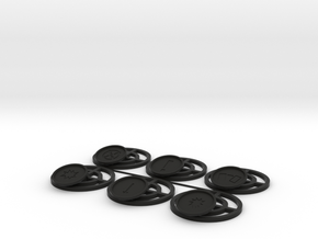 Hoth Mine Bases in Black Natural Versatile Plastic