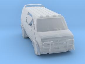 Wastelands Z-team van.  in Smoothest Fine Detail Plastic