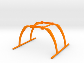 BLH7404 custom landing gear for Blade 180QX HD in Orange Processed Versatile Plastic