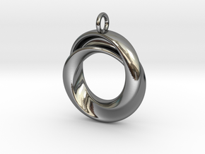 A Torus with a twist in Premium Silver