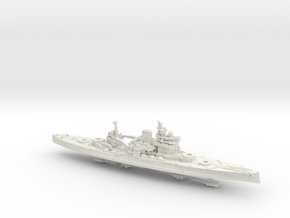 1/1800 HMS Queen Elizabeth [1943] in White Natural Versatile Plastic