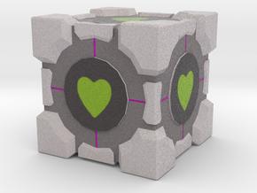 Favorite Cube in Full Color Sandstone