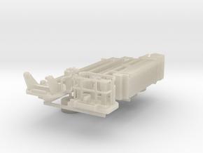 HO 1/87 Mack CF Aerialscope Parts in White Acrylic