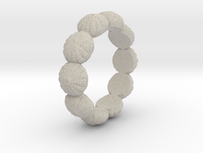 Urchin Ring 1 - US-Size 3 1/2 (14.45 mm) in Natural Sandstone