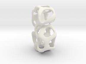 Testing5 in White Natural Versatile Plastic