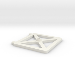 Sysmic Charge Base in White Natural Versatile Plastic
