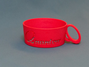 Cupholder in Red Strong & Flexible Polished
