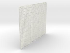 A-nori-bricks-tall64-sheet1a in White Natural Versatile Plastic