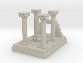 Greek Miniature Terrain in Natural Sandstone